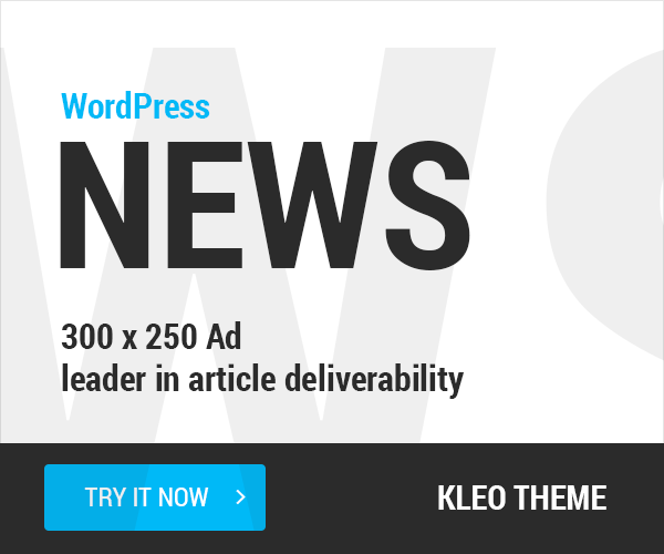 WordPress News Ad
