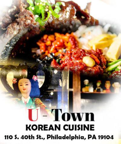 U town Korean food