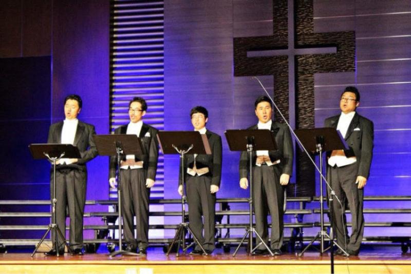 필라한인음악회 남성 연주회