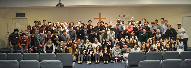 Group photo of Church people.