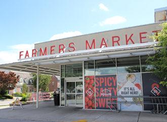 Exterior of Farmers Market.