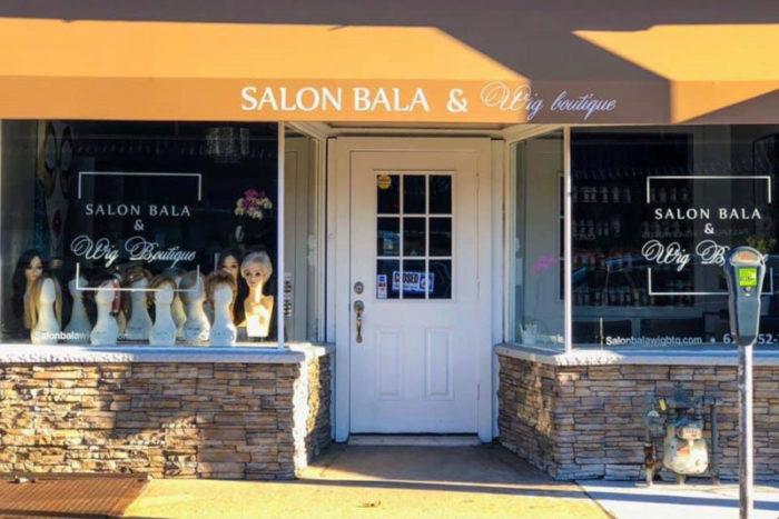 Exterior of Salon BALA