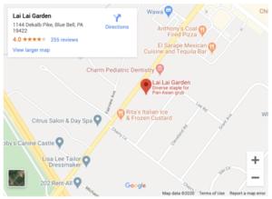 LaiLai garden map